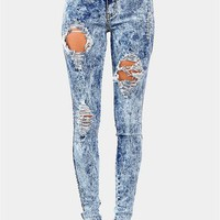 Sweet Slice Jeans - Dark Blue