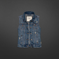Gillian Denim Vest