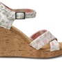 Shabby Chic Women&#x27;s Strappy Wedges