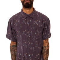 Insight The Death Shade Buttondown Shirt in Floyd Black : Karmaloop.com - Global Concrete Culture