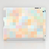 Re-Created Colored Squares No. 33 iPad Case by Robert Lee