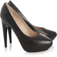 Giuseppe Zanotti Leather pumps – 50% at THE OUTNET.COM