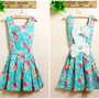 Buy Fresh backless bowknots dress on Shoply.