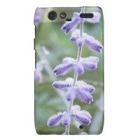 Purple Russian Sage -Pervoskia Motorola Droid RAZR Case from Zazzle.com