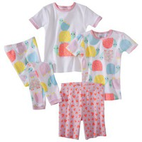 Just One You® by Carter's® Infant Toddler Girls' 4-Piece Tight Fit Pajama Set