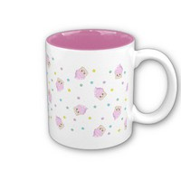 Cute cupcake pattern coffee mugs from Zazzle.com