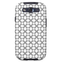 Tuxedo Black and White Pring PT 1 Galaxy SIII Covers from Zazzle.com