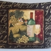 Toaster Cover with Wine Bottle- 2 Slice Toaster
