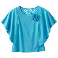 SO Neon Butterfly Top - Girls 7-16