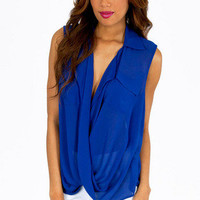 Zoey Twist Top $26
