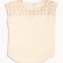 Crocheted Yoke Top | FOREVER 21 - 2052287774