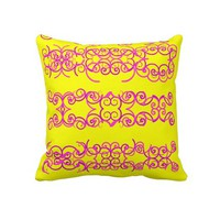 Sunny Side Throw Pillows from Zazzle.com