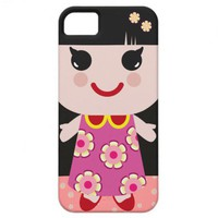 Kawaii Doll iPhone 5 Cover from Zazzle.com