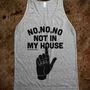 Not in My House | Skreened.com