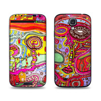 Samsung Galaxy S4 Skin - The Wall by CCambrea