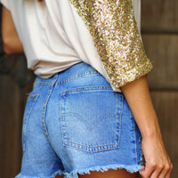 High Standard Shorts: True Denim | Hope's