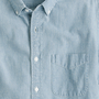 Short-sleeve shirt in Japanese indigo chambray - shirts - Men's new arrivals - J.Crew
