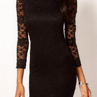 clear sale! Lace Dress