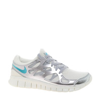Nike Free Run 2 Prm Ext Silver Trainers