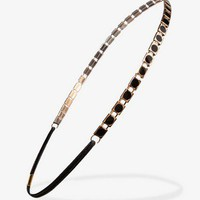 Lacquered Metal Headband