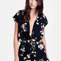Something Sweet Floral Romper - $46.00 : ThreadSence, Women's Indie & Bohemian Clothing, Dresses, & Accessories