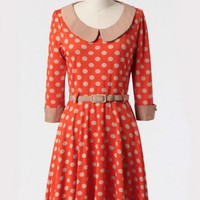 Bright Side Polka Dot Dress at ShopRuche.com