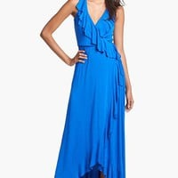 FELICITY & COCO Ruffle Wrap Dress (Nordstrom Exclusive) | Nordstrom