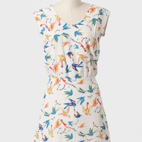 Paradise Lost Bird Print Dress at ShopRuche.com