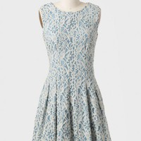 Annabelle Pleated Lace Dress at ShopRuche.com