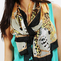 Oversized Leopard Scarf