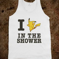 I Pikachu In The Shower!