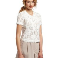 Amazon.com: McGinn Women&#x27;s Cindy Lace Jacket: Clothing