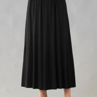 Amazon.com: Matte Jersey A-line Skirt: Clothing