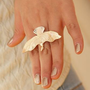Fashion Eagle Statement Ring (Adjustable Band) | LilyFair Jewelry