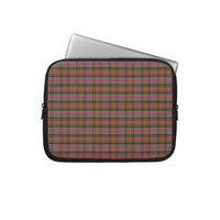 Clan MacPherson Tartan Computer Sleeves from Zazzle.com