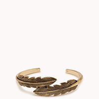 Down-to-Earth Feathers Cuff