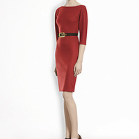Gucci - Belted Jersey Dress