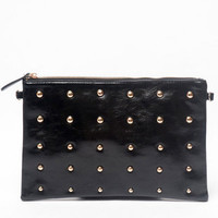 Great Dots Strapped Clutch $24