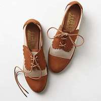 Anthropologie - Mesh Owen Oxfords