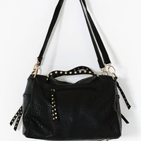 Saldana Studded Satchel