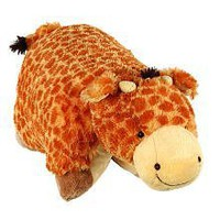 Pillow Pets 11 inch Pee Wees - Jolly Giraffe:Amazon:Toys & Games