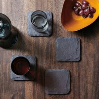 Slate Coaster Set