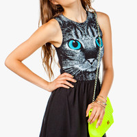 Cutie Cat Face Dress