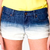 Ombreé Denim Shorts | FOREVER 21 - 2027411576
