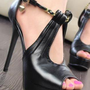 Ladies Ankle Strap Evening Party High Heel Shoes