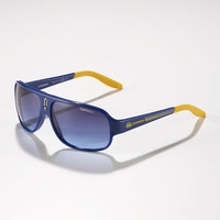 Carrera Childrens Mid-Size Classic Carrerino Sunglasses, Blue/Yellow