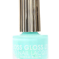 Floss Gloss The Nail Lacquer in Wavepool