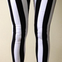 Motel skinny jordan jean in black and white stripe from suzanakupresanin