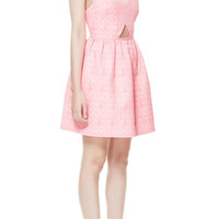 JACQUARD DRESS WITH FULL SKIRT - Dresses - TRF - ZARA United States