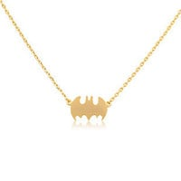 Extra Bat Clavicle Chain Batman Necklace